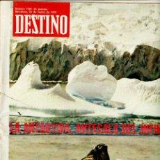 Coleccionismo de Revista Destino: DESTINO Nº 1799 BARCELONA, 25 DE MARZO DE 1972. Lote 195308236
