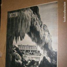Coleccionismo de Revista Destino: DESTINO Nº 968 AÑO 1956 EL MAR HELADO EN LA ESCALA. Lote 195308340