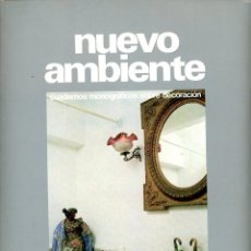 Coleccionismo de Revista Destino: NUEVO AMBIENTE, CUADERNOS MONOGRÁFICOS DE DECORACIÓN. Nº 21 CUARTOS DE BAÑO. 1973. Lote 195309012