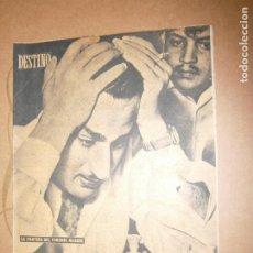 Coleccionismo de Revista Destino: DESTINO Nº 944 AÑO 1956 LA PARTIDA DEL CORONEL NASSER. Lote 195324012