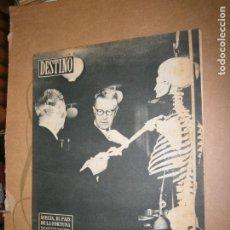Coleccionismo de Revista Destino: DESTINO Nº 1002 AÑO 1956 SUECIA EL PAIS DE LA FORTUNA . Lote 195325012