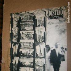 Coleccionismo de Revista Destino: DESTINO Nº 998 AÑO 1956. Lote 195410552