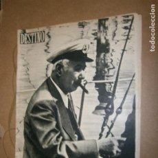 Coleccionismo de Revista Destino: DESTINO Nº 893 AÑO 1954 ALEMANIA EN PRIMER TERMINO. Lote 195415612