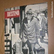 Coleccionismo de Revista Destino: DESTINO Nº 1466 AÑO 1965 EL ULTIMO VIAJE DE SCHWEITZER. Lote 195416466