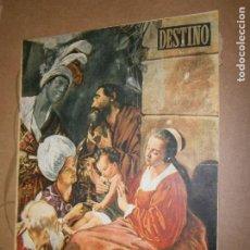 Coleccionismo de Revista Destino: DESTINO Nº 959 AÑO 1955 NUMERO EXTRAORDINARIO NAVIDAD. Lote 195418401