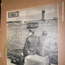 Collectionnisme de Magazine Destino: DESTINO Nº 911 AÑO 1955 SENTARSE NO CUESTA NADA . Lote 195419385