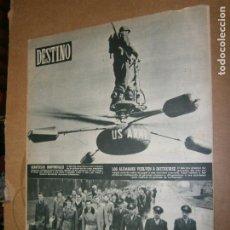 Coleccionismo de Revista Destino: DESTINO Nº 962 AÑO 1956 LOS ALEMANES VUELVEN A INSTRUIRSE. Lote 195421042