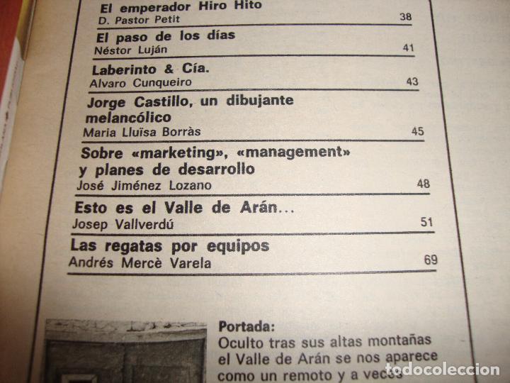 Coleccionismo de Revista Destino: REVISTA DESTINO ESTO ES EL VALLE DE ARAN POR JOSEP VALLVERDU - Foto 2 - 195469568