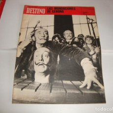 Collectionnisme de Magazine Destino: REVISTA DESTINO DALI AURIFICO Y REACCIONARIO. Lote 195469675