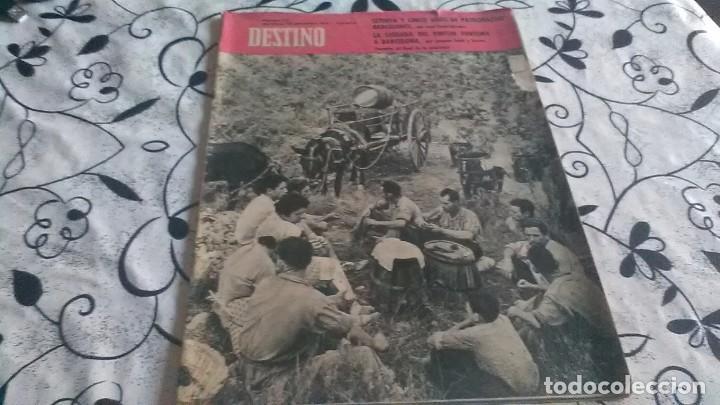 DESTINO, MARIANO FORTUNY EN BARCELONA (Coleccionismo - Revistas y Periódicos Modernos (a partir de 1.940) - Revista Destino)