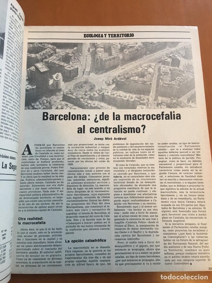 Coleccionismo de Revista Destino: REVISTA DESTINO 2141, 1978 ABAD ESCARRE EN LA HISTORA - Foto 3 - 200092467
