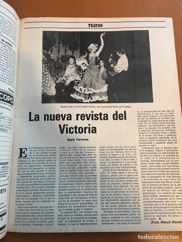 Coleccionismo de Revista Destino: REVISTA DESTINO 2141, 1978 ABAD ESCARRE EN LA HISTORA - Foto 4 - 200092467