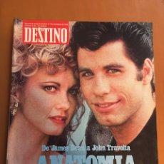 Collectionnisme de Magazine Destino: REVISTA DESTINO 2142, 1978 , ANATOMÍA DEL MITO JAMES DEAN A TRAVOLTA (LLOVERÁS, JUAN PABLO II...). Lote 200092592