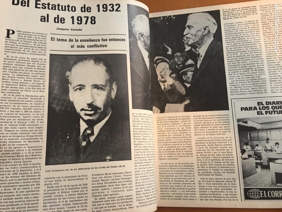 Coleccionismo de Revista Destino: REVISTA DESTINO 2145 ,1978,ESTATUT SAU,PUJOL, BERGUEDA,MACIA,CONPANYS,. - Foto 3 - 200092981