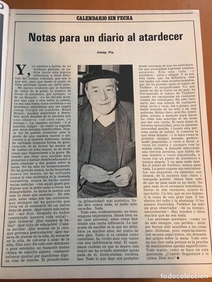 Coleccionismo de Revista Destino: REVISTA DESTINO 2146 ,1978, VALL D'ARAN SINGULARIDAD A PERPETUAR, REVENTOS, MANRESA,PEDRALBES, MACIA - Foto 4 - 200093146
