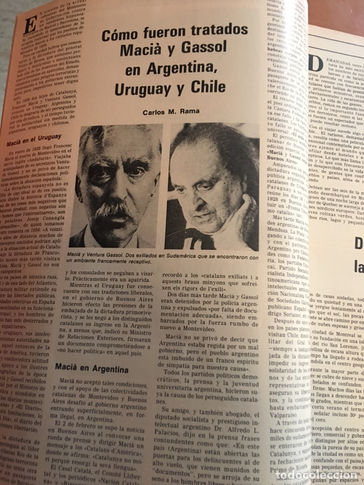 Coleccionismo de Revista Destino: REVISTA DESTINO 2146 ,1978, VALL D'ARAN SINGULARIDAD A PERPETUAR, REVENTOS, MANRESA,PEDRALBES, MACIA - Foto 5 - 200093146