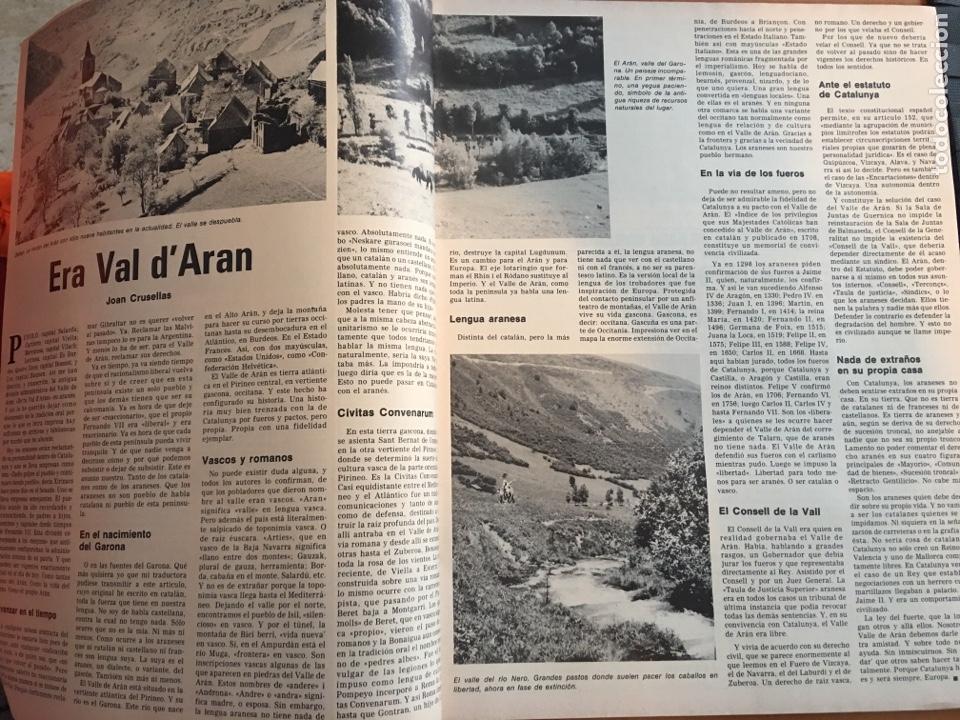 Coleccionismo de Revista Destino: REVISTA DESTINO 2146 ,1978, VALL D'ARAN SINGULARIDAD A PERPETUAR, REVENTOS, MANRESA,PEDRALBES, MACIA - Foto 6 - 200093146