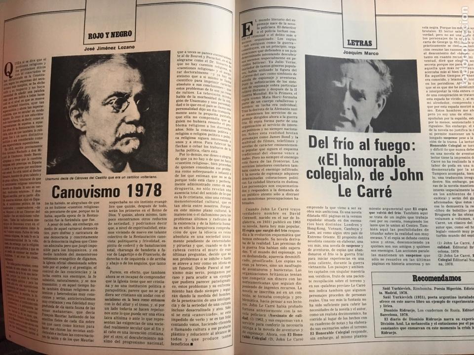 Coleccionismo de Revista Destino: REVISTA DESTINO 2147, 1978, CONSTITUCIÓN MARCA EL JUEGO, LA SELVA,, - Foto 4 - 200093286