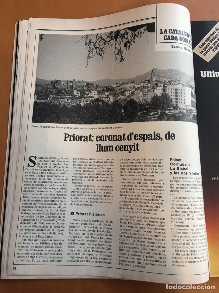 Coleccionismo de Revista Destino: REVISTA DESTINO 2148, 1978,DILEMAS CINE ESPAÑOL,LE CORBUSIER PRIORAT,... - Foto 4 - 200093448
