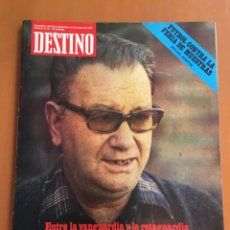 Coleccionismo de Revista Destino: REVISTA DESTINO 2151, 1979,BROSSA , FUTBOL,MUNDIAL 82,TARRADELLAS, PESSEBRES VIVIENTES,.... Lote 200095301