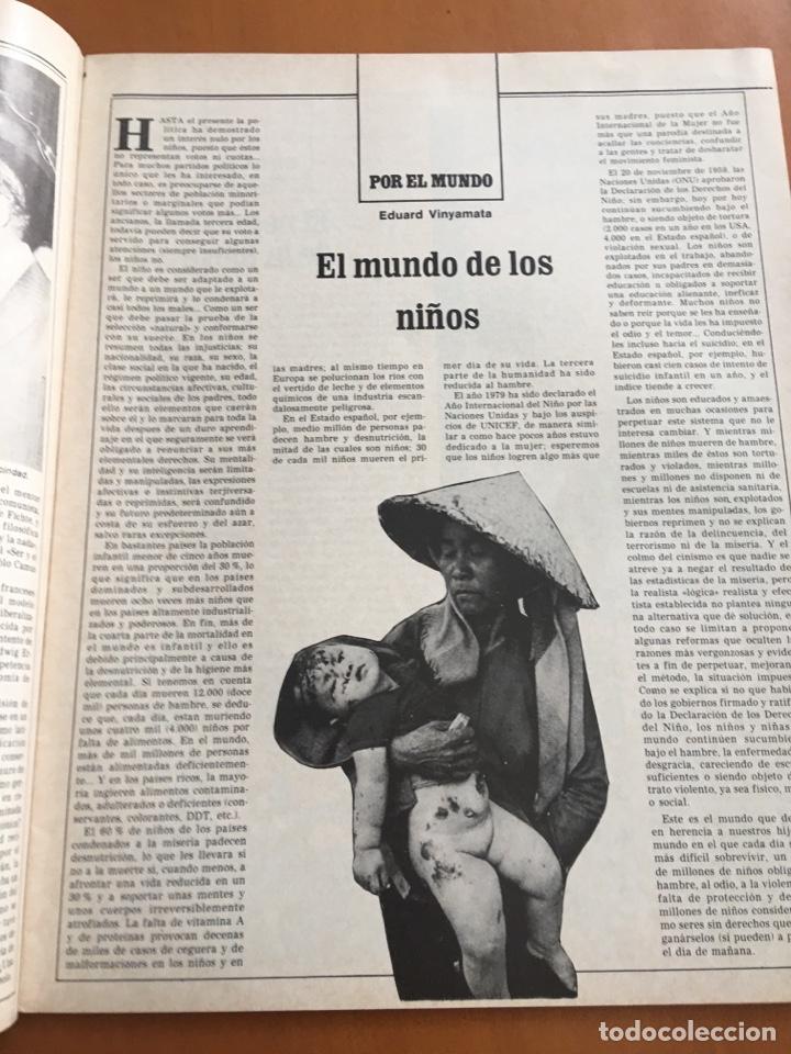 Coleccionismo de Revista Destino: REVISTA DESTINO 2152, 1979,NEGOCIO NIEVE ESQUÍ, COMPANYS, TOLSTOI,H.MOORE ,... - Foto 4 - 200099056