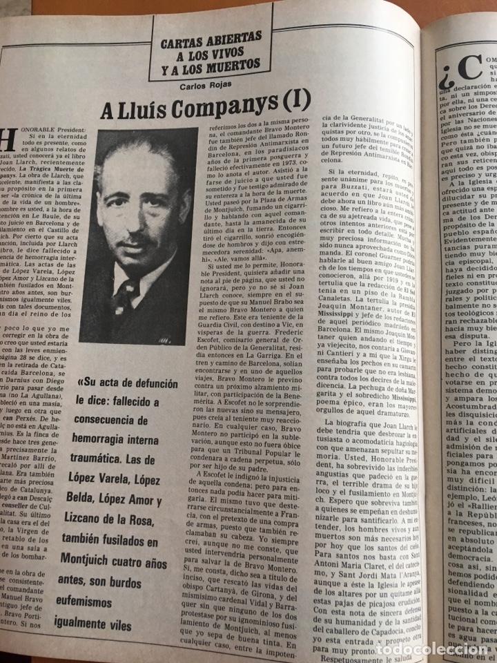 Coleccionismo de Revista Destino: REVISTA DESTINO 2152, 1979,NEGOCIO NIEVE ESQUÍ, COMPANYS, TOLSTOI,H.MOORE ,... - Foto 7 - 200099056
