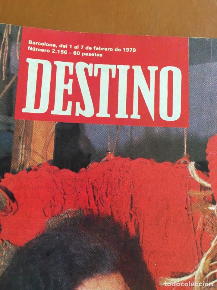 Coleccionismo de Revista Destino: REVISTA DESTINO 2156, 1979, EL ARTE, HERIBERT BARRERA,.... - Foto 2 - 200101386