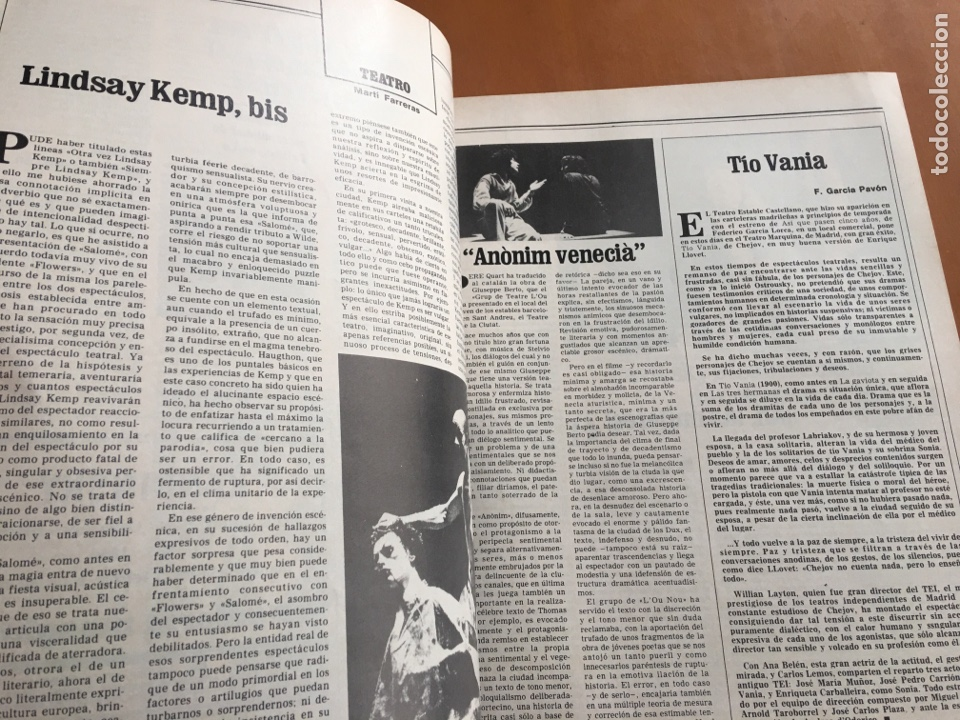 Coleccionismo de Revista Destino: REVISTA DESTINO 2156, 1979, EL ARTE, HERIBERT BARRERA,.... - Foto 6 - 200101386