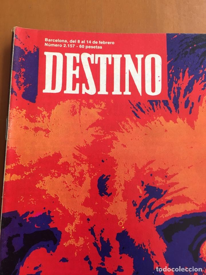 Coleccionismo de Revista Destino: REVISTA DESTINO 2157, 1979, MITOS DEL 79 ENTRE DRÁCULA Y SUPERMAN - Foto 2 - 200101837