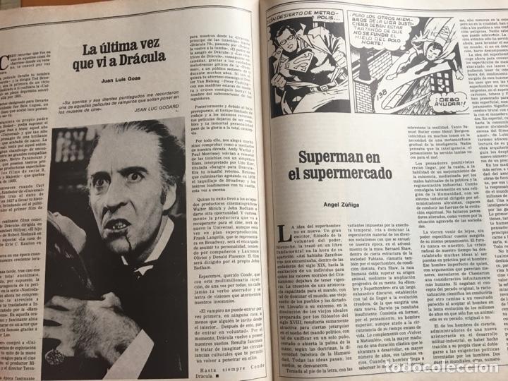 Coleccionismo de Revista Destino: REVISTA DESTINO 2157, 1979, MITOS DEL 79 ENTRE DRÁCULA Y SUPERMAN - Foto 5 - 200101837