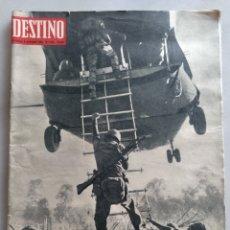 Coleccionismo de Revista Destino: REVISTA DESTINO NUM 1526. 5 NOVIEMBRE 1966. VIETNAM. Lote 204680356