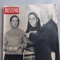 Coleccionismo de Revista Destino: REVISTA DESTINO NUM 1537, 21 ENERO 1967.CHARLES CHAPLIN. Lote 204683740