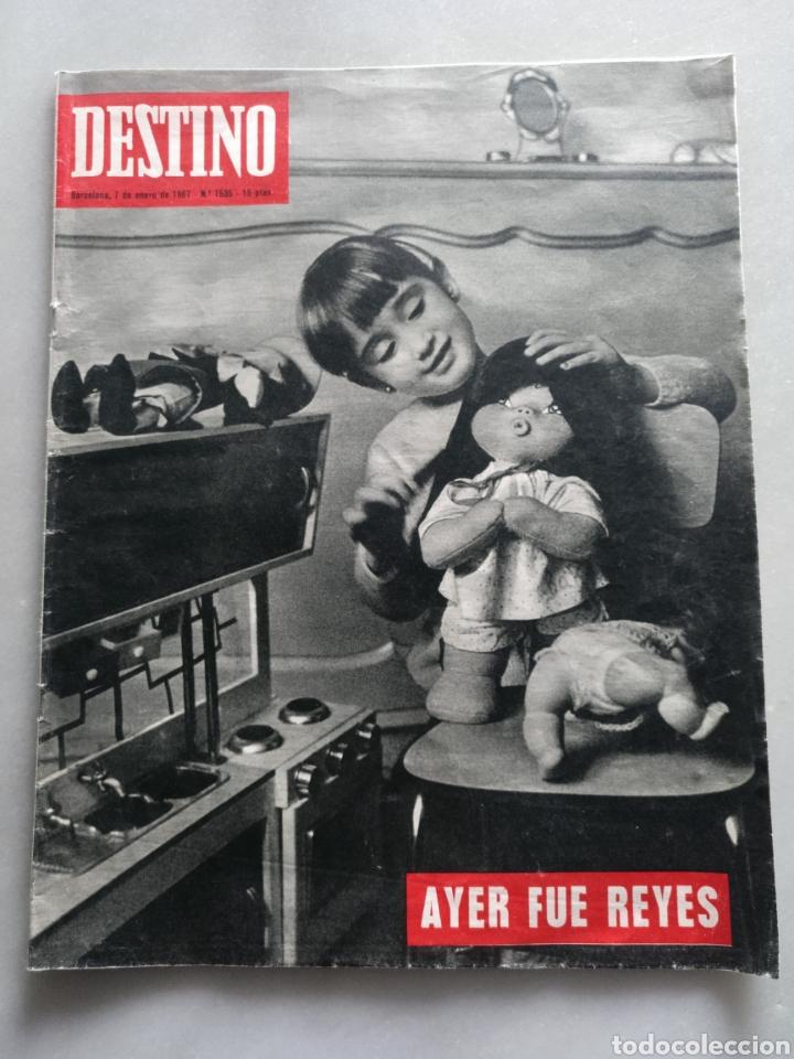 REVISTA DESTINO NUM 1535, 7 ENERO 1968 (Coleccionismo - Revistas y Periódicos Modernos (a partir de 1.940) - Revista Destino)