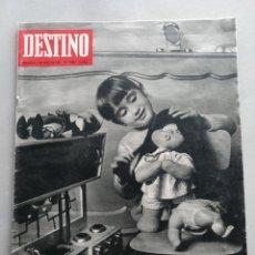 Coleccionismo de Revista Destino: REVISTA DESTINO NUM 1535, 7 ENERO 1968. Lote 204695476