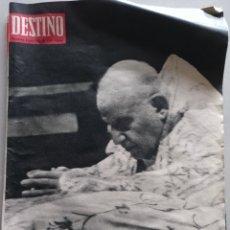 Coleccionismo de Revista Destino: REVISTA DESTINO NUM 1348, 8 DE JUNIO 1963. Lote 204695962
