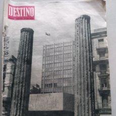 Coleccionismo de Revista Destino: REVISTA DESTINO NUM 1374, 7 DICIEMBRE 1963. Lote 204696230