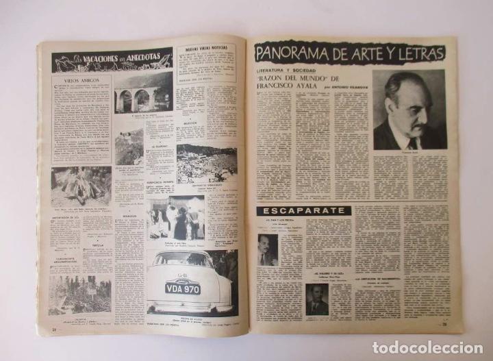 Coleccionismo de Revista Destino: DESTINO -1963 -EL LAGO DE BANYOLES, LA SIDERURGIA BRITANICA, LOS PROBLEMAS DE LA COSTA BRAVA... - Foto 3 - 204742147