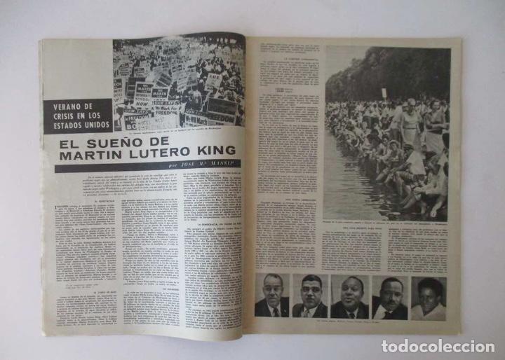 Coleccionismo de Revista Destino: DESTINO - AÑO 1963 - LAS REBAJAS DEL VERANO, MARTIN LUTER KING, VENECIA, CANNES, RAIMON... - Foto 3 - 204742411