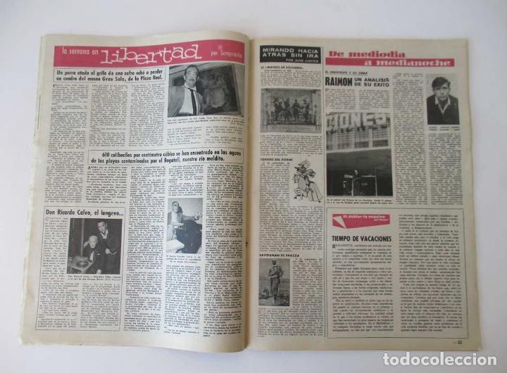 Coleccionismo de Revista Destino: DESTINO - AÑO 1963 - LAS REBAJAS DEL VERANO, MARTIN LUTER KING, VENECIA, CANNES, RAIMON... - Foto 4 - 204742411
