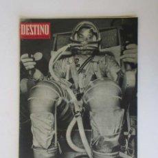 Coleccionismo de Revista Destino: DESTINO -1963 - EL ASTRONAUTA GORDON COOPER, RAIMON, LA JUVENTUD ESPAÑOLA, VIAJE A GRECIA.... Lote 204742791
