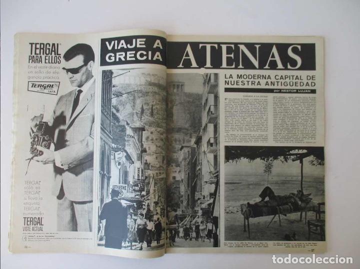Coleccionismo de Revista Destino: DESTINO -1963 - EL ASTRONAUTA GORDON COOPER, RAIMON, LA JUVENTUD ESPAÑOLA, VIAJE A GRECIA... - Foto 2 - 204742791