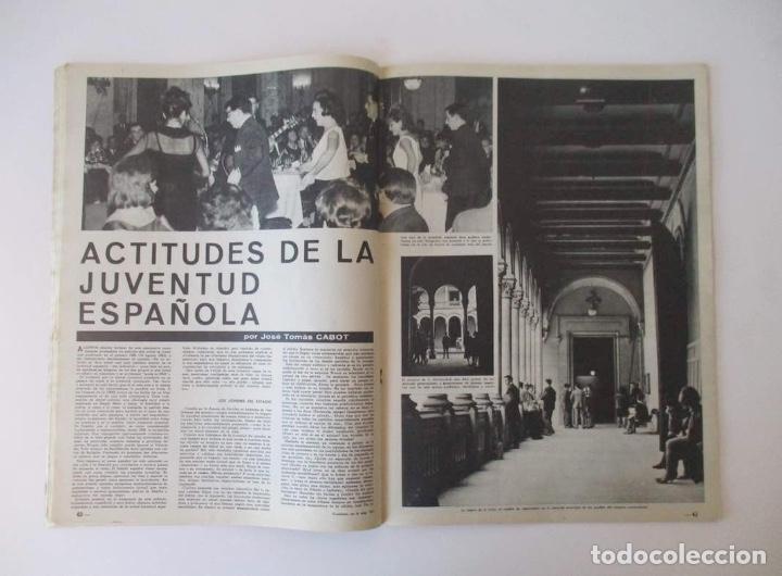 Coleccionismo de Revista Destino: DESTINO -1963 - EL ASTRONAUTA GORDON COOPER, RAIMON, LA JUVENTUD ESPAÑOLA, VIAJE A GRECIA... - Foto 3 - 204742791