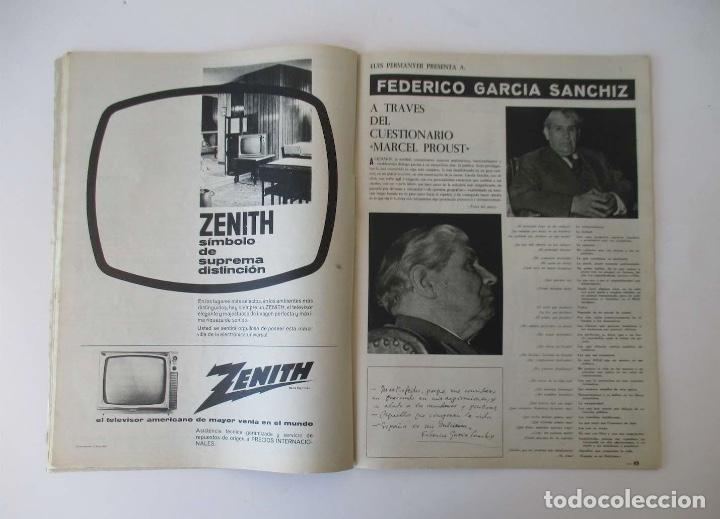Coleccionismo de Revista Destino: DESTINO -1963 - EL ASTRONAUTA GORDON COOPER, RAIMON, LA JUVENTUD ESPAÑOLA, VIAJE A GRECIA... - Foto 4 - 204742791