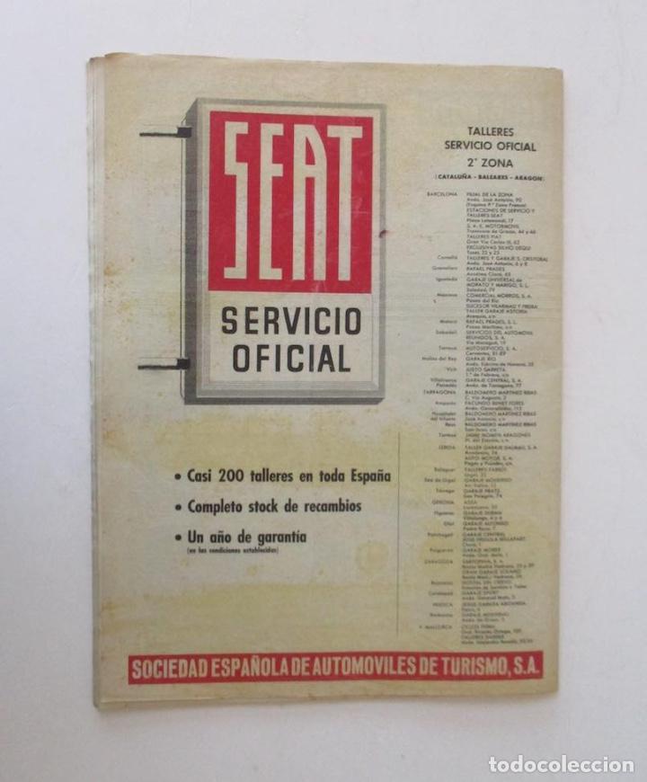 Coleccionismo de Revista Destino: DESTINO -1963 - EL ASTRONAUTA GORDON COOPER, RAIMON, LA JUVENTUD ESPAÑOLA, VIAJE A GRECIA... - Foto 5 - 204742791