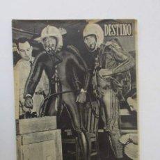 Coleccionismo de Revista Destino: DESTINO - 1953 - NORTEAMERICA Y RUSIA A LA CONQUISTA DEL ESPACIO, LA ADOPCION DE NIÑOS EN ESPAÑA.... Lote 204747600