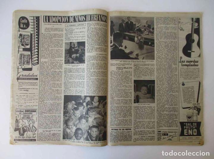 Coleccionismo de Revista Destino: DESTINO - 1953 - NORTEAMERICA Y RUSIA A LA CONQUISTA DEL ESPACIO, LA ADOPCION DE NIÑOS EN ESPAÑA... - Foto 3 - 204747600