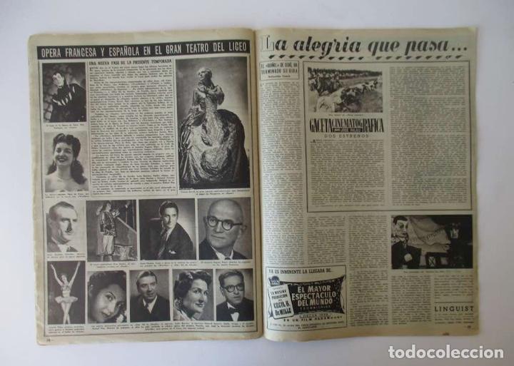 Coleccionismo de Revista Destino: DESTINO - 1953 - NORTEAMERICA Y RUSIA A LA CONQUISTA DEL ESPACIO, LA ADOPCION DE NIÑOS EN ESPAÑA... - Foto 4 - 204747600