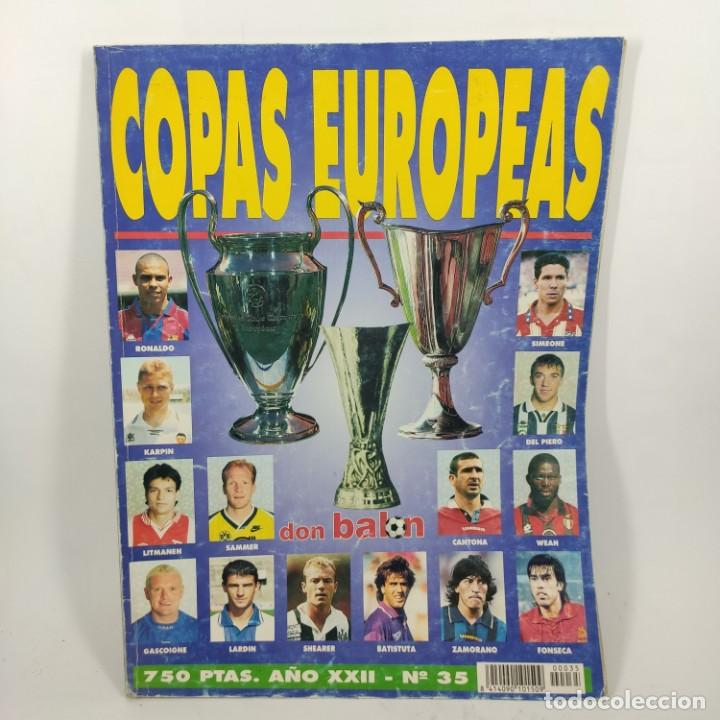 REVISTA - DON BALON COPAS EUROPEAS AÑO XXII Nº 35 / Nº12567 (Coleccionismo - Revistas y Periódicos Modernos (a partir de 1.940) - Revista Destino)