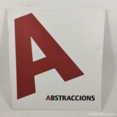 Coleccionismo de Revista Destino: CATÁLOGO - ABSTRACCIONS - TARDO ART 2009 / Nº12568. Lote 206332750