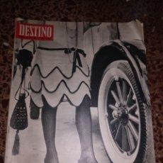 Coleccionismo de Revista Destino: DESTINO, NUM 1538, 28 ENERO 1967. Lote 211563311